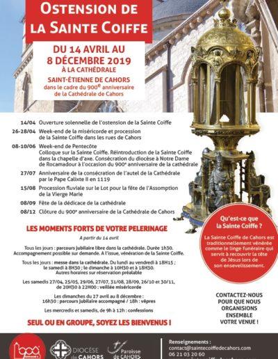14 avril - 8 décembre - Vénérer la Sainte Coiffe