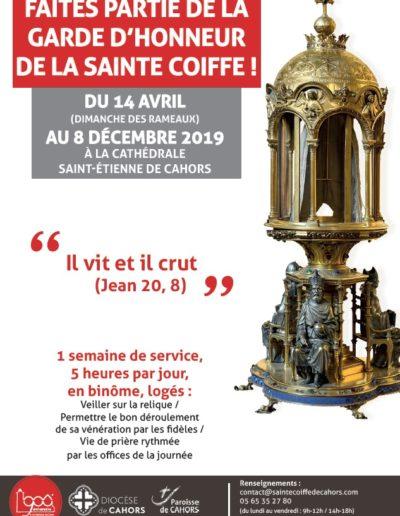 Rejoignez la Garde d'honneur de la Sainte Coiffe