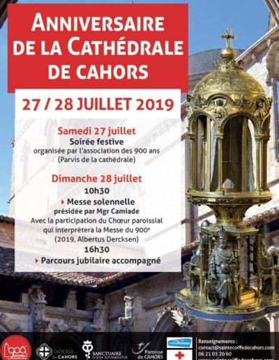 27-28 juillet - Anniversaire de la cathédrale