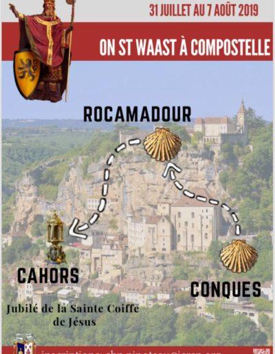 7 août - chapitre St Waast (Lille)