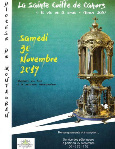 Samedi 30 novembre - pèlerinage du diocèse de Montauban